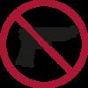 Verbotene Gegenstände - Feuerwaffen im Bordgepäck