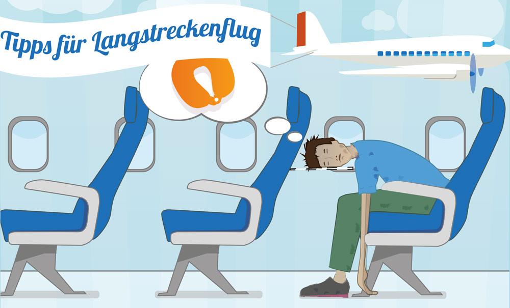 Infografik Langstreckenflug-Tipps fürs Handgepäck - Was darf ins Handgepäck?
