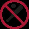 Verbotene Gegenstände - Sportausrüstung