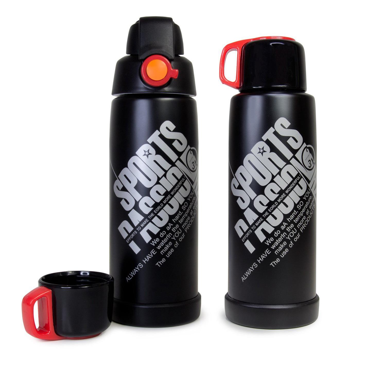 Edelstahl Sportflasche Thermoflasche Isoflasche