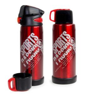 Doppelwandige Edelstahl Iso Sportflasche