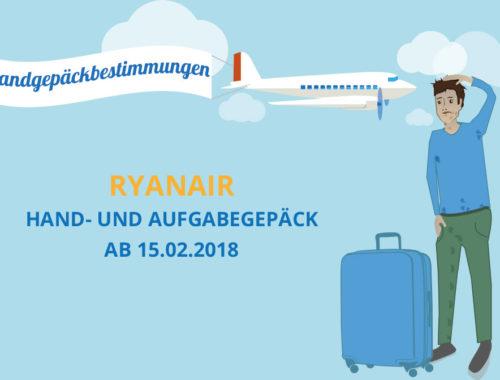 Ryanair Gepäck Regeln